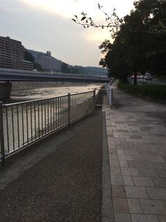 川沿い風景夕暮れ.JPG